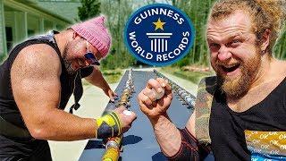 Can Pro Strongman Break Guinness World Record 1st Try?