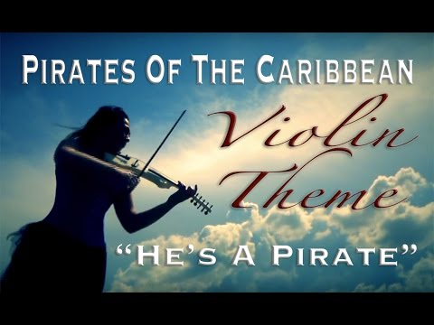 Pirates Of The Caribbean (He's a Pirate - Violin Theme Cristina Kiseleff)