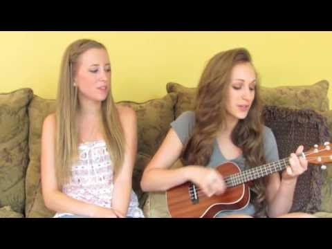 """Count On Me""- Bruno Mars Ukulele Cover By Carly & Sarah"