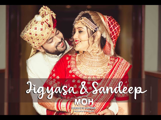 Best Lockdown wedding Teaser Patna 2020 ||JIGYASA & SANDEEP || MOH - MEMORIES OF HAPPINESS (Patna)