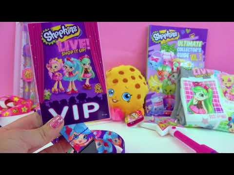 Shoppies Dolls In Real Life !!! Shopkins LIVE Show - Cookie Swirl C VIP Vlog  Video