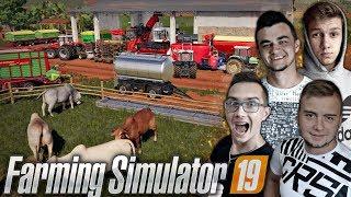 """""""od Ara do Hektara""""#54   Farming Simulator 19 MP   Ogarniemy Krowy, Mieszanie TMR & Siewy   MST"""