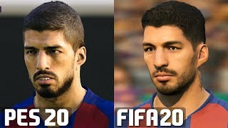 Fifa 20 vs pes 2020 player faces comparison fc barcelona #fifa20 #fifa20vspes20 #fifavspes #barcelona #barca cheap games/codes here: https://www.g2a.com/r/aw...