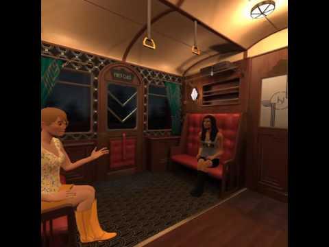 vTime - Empire Express Train - Emma, Sharon and Houston