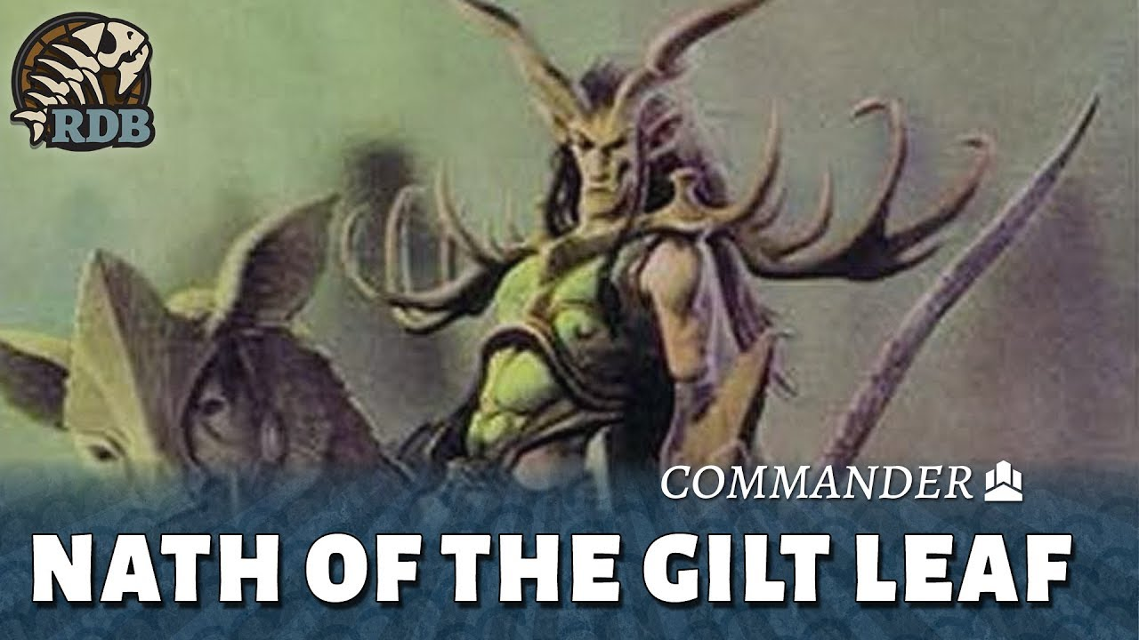 Nath Of The Gilt Leaf Discard Elf Tribal Commander Edh Deck