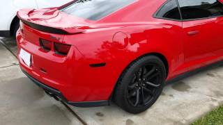 2013 zl1 idle video