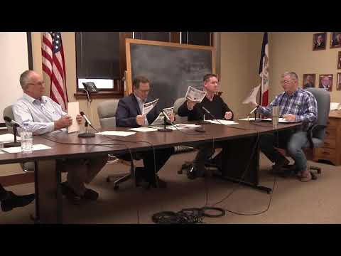 Mahaska County Board Supervisors Meeting for April 18, 2018