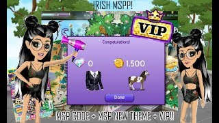 MovieStarPlanet #2 | Msp Magazine Code + Msp Theme + V.I.P ♥