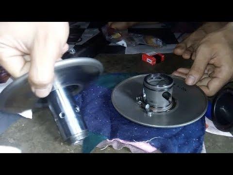 cara lengkap ganti bearing pully matic