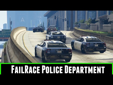 Gta 5 Mods FailRace Police Department
