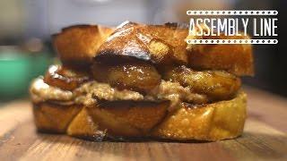 Peanut Buter Banana Sandwich | Assembly Line