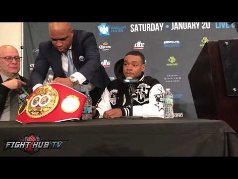 "Errol Spence Jr demands Keith Thurman fight him in 2018 ""When's the last time he got a KO"""