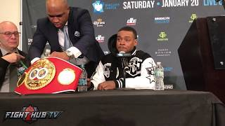 Errol Spence Jr demands Keith Thurman fight him in 2018