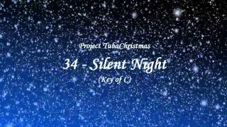 Project TubaChristmas - 34 - Silent Night (Key of C)