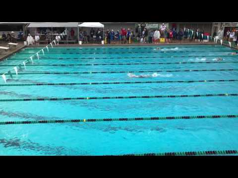 2017 Hawaii High School 500 Free swim final Jasmine O