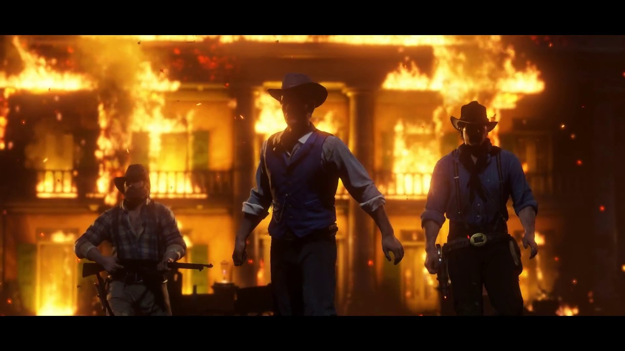 『Red Dead Redemption 2』宣傳影片#2
