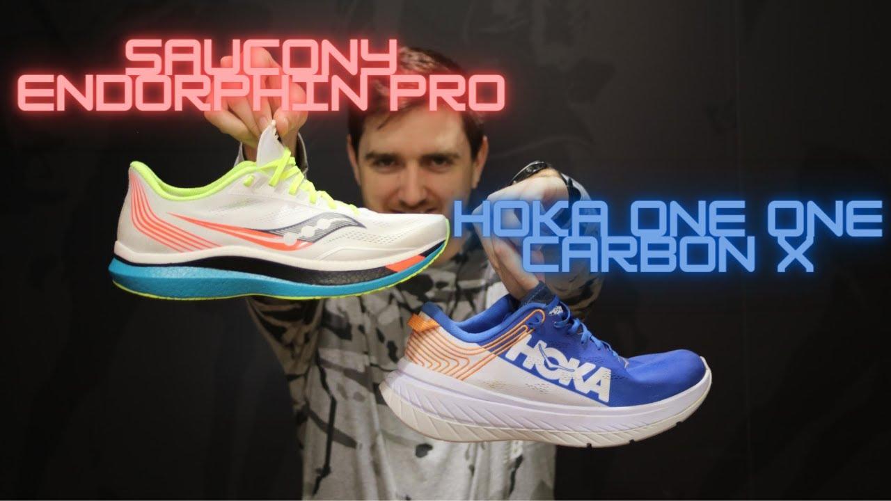 Saucony Endorphin Pro VS Hoka One One