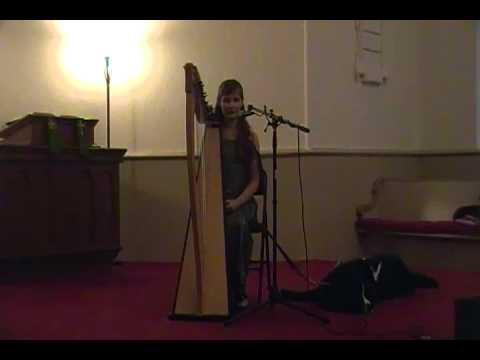 MusikFest 2012 Madeline Rose Link Harpist 2 of 3
