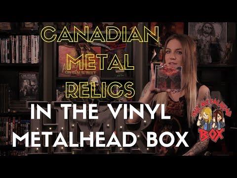 Canadian Metal Relics in The Vinyl Metalhead Box - Unboxing