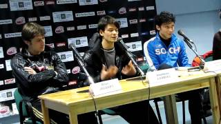 Kings of ice SPB 30.03.2010, press conference 4