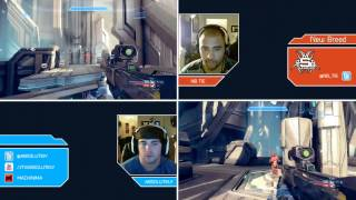 halo 4 2v2 gb abs tie haven dual screen gameplay
