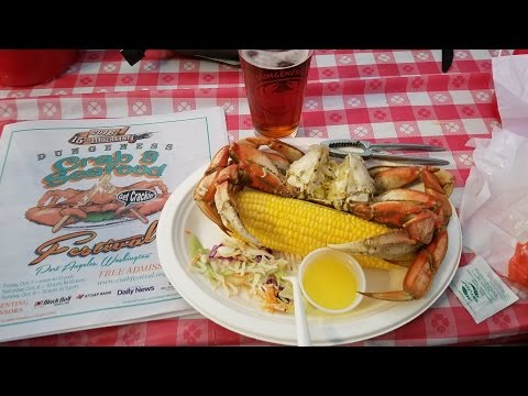 Port Angeles Crab and Seafood Festival also Elwha River 10/7-9/ 2016