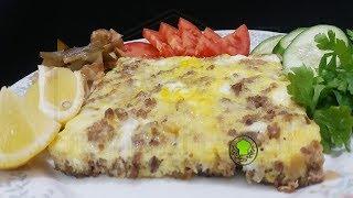 #سحور ٢ مخلمة بيض بالحم بطعم مختلف #رمضان 2018