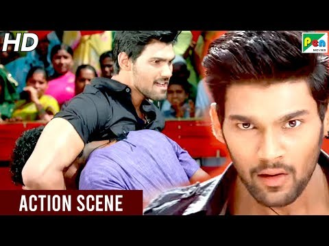 Bellamkonda Sreenivas Entry - Action Scene | Mahaabali (Alludu Seenu) New Hindi Dubbed Movie