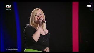 Irina Pelin - A Natural Woman, audiții Vocea României 2015