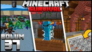 GANİMET 3 +XP'Lİ MEGA MOB FARMI !!┇Minecraft Survival ▹Bölüm 37