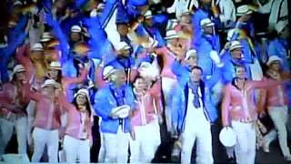2012 XXX Summer Olympic Games: Parade of Nations - G
