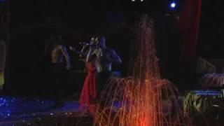 видео Свадебное фаер-шоу с использованием профессиональных спецэффектов и пиротехники. Заказ по телефону: +74959717197