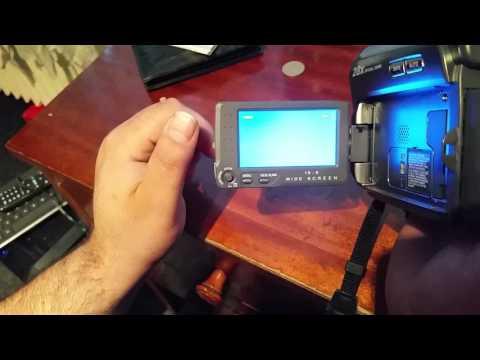 Probleme camera video JVC GR-D725E