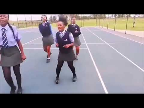South African School kids  Happy and dancing 2020