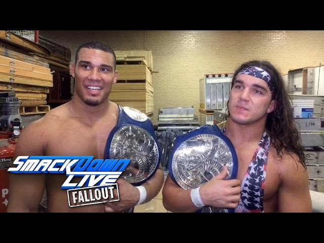American Alpha's journey that made them Tag Team Champion: SmackDown LIVE Fallout , Dec. 27, 2016