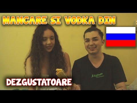 INCERCAM MANCARE DEZGUSTATOARE DIN RUSIA... SI VODKA