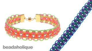 How to Make a Knotting Cord Macrame Bracelet