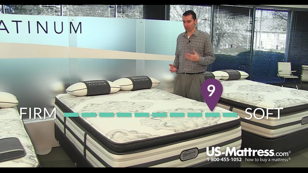simmons beautyrest platinum trixie plush pillow top mattress expert review youtube