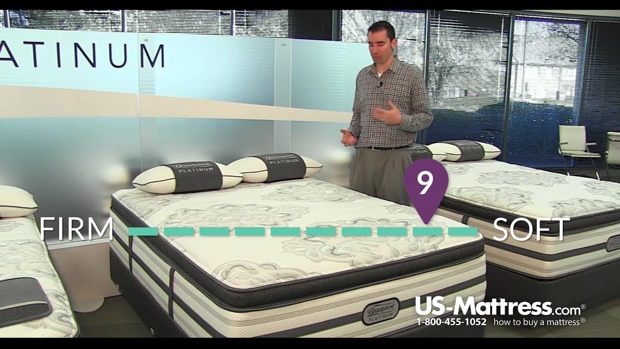simmons beautyrest platinum trixie plush pillow top mattress expert review
