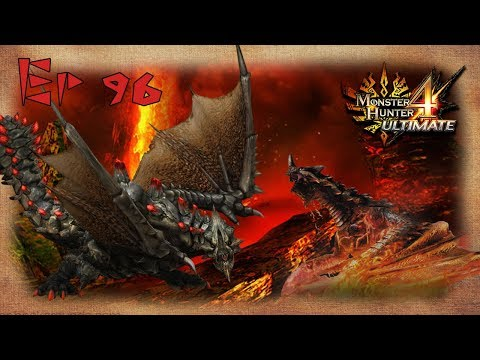 Let's Play Monster Hunter 4 Ultimate - Ep 96 - 2 Black Gravios Frenzy thumbnail
