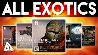Destiny All New & Year 1 Exotics Coming Soon!