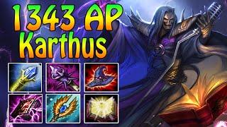 1343 FULL AP KARTHUS - Gameplay + Damage Test [ger]
