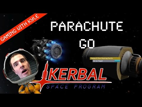 Kerbal Space Program   Parachute test and explanation