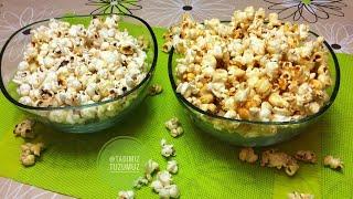 Tuzlu VS Karamelize(Tatlı)Mısır Patlağı Tarifi film Önerimde var | popcorn Tarifi | Tadimiztuzumuz