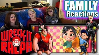 Wreck It Ralph | FAMILY Reactions | Fair Use