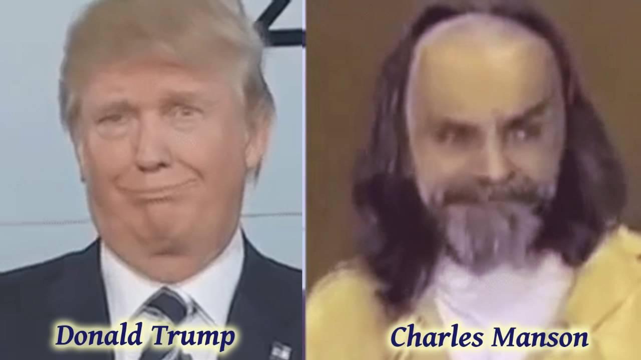 Greg Gutfeld on Newsweek Comparing The Murderer Charles Manson to Donald Trump