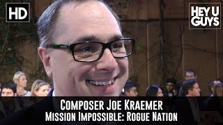 Composer Joe Kraemer - Mission Impossible: Rogue Nation Premiere