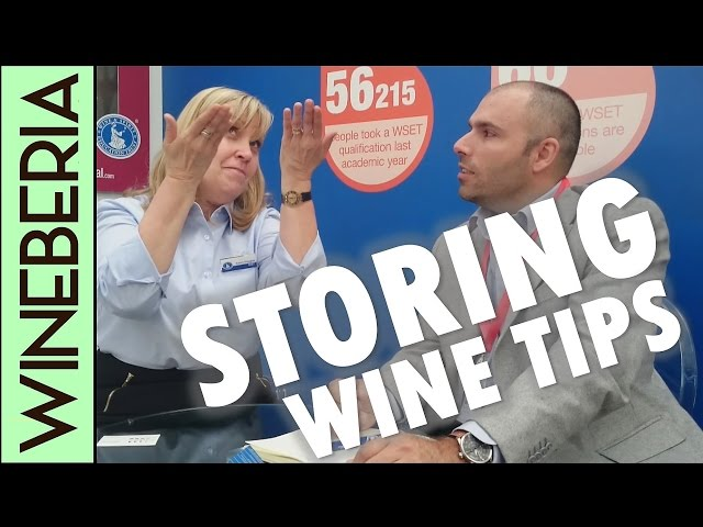 HOW TO STORE WINE AT HOME  | Get the right location and temperature