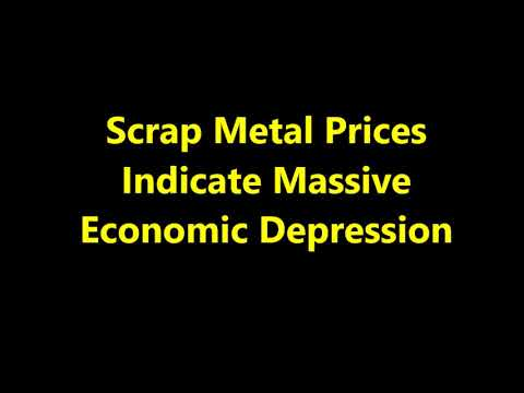 Scrap Metal Prices Indicate Massive Economic Collapse: SHTF Deepens