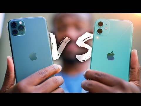 iPhone 11 vs iPhone 11 Pro Hands On!  - What's the Difference?